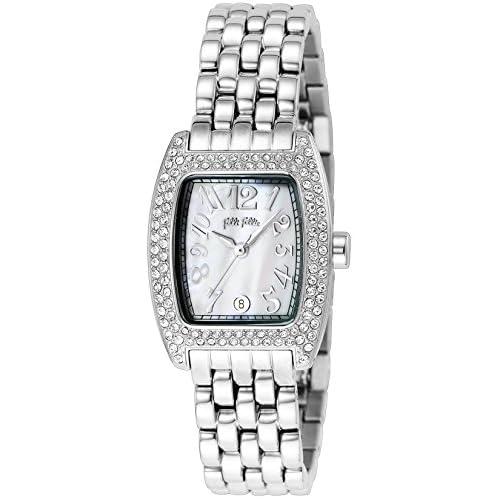 [フォリフォリ]FOLLI FOLLIE 腕時計 ホワイトパール文字盤 デイト WF5T081BZW レディース 【並行輸入品】