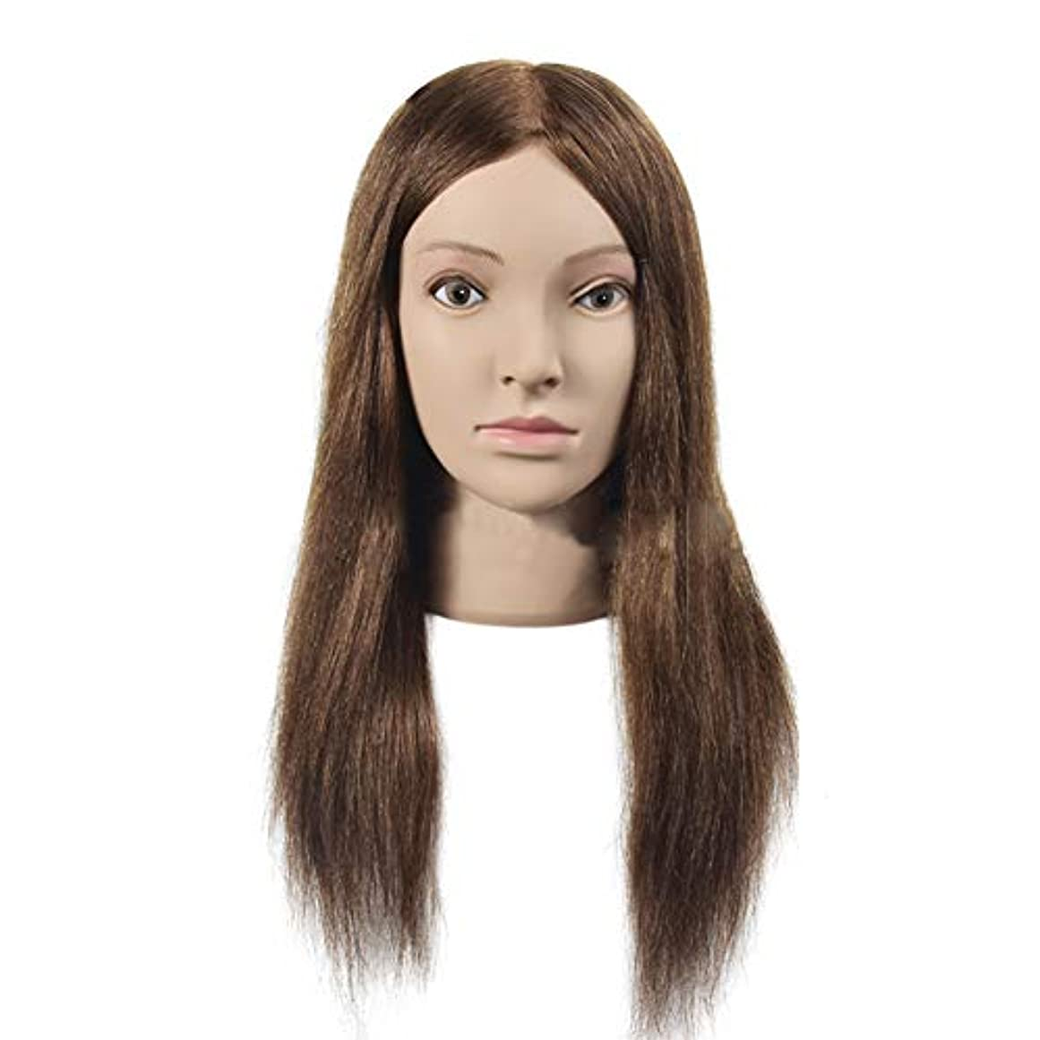 出くわす彼自身変化専門の練習ホット染色漂白はさみモデリングマネキン髪編組髪かつら女性モデルティーチングヘッド
