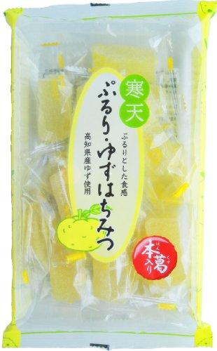 津山屋製菓 ぷるり・ゆずはちみつ 210g×12袋 -