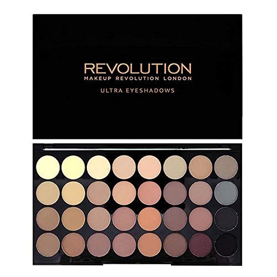 リラックスした国民ありそう[Revolution ] 回転超32完璧マットアイシャドウパレット - Revolution Ultra 32 Flawless Matte Eye Shadow Palette [並行輸入品]