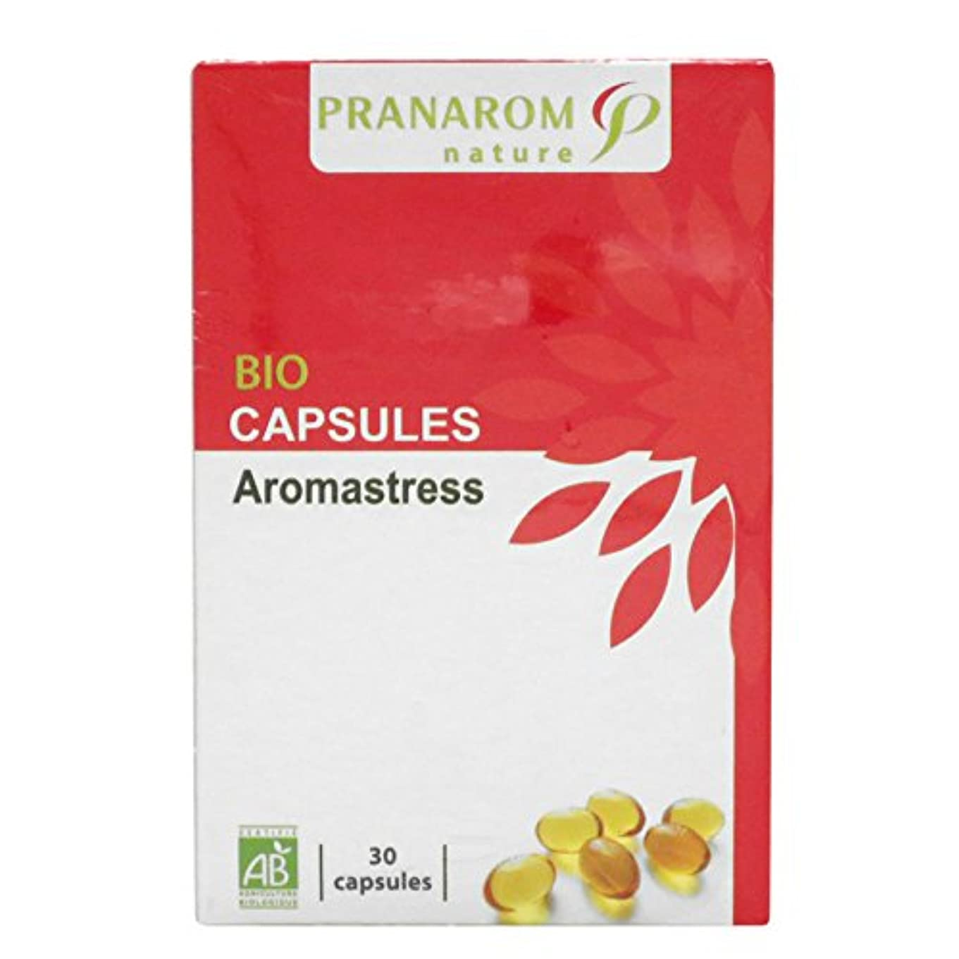 レンジ機関愛するプラナロム アロマストレスカプセル 30粒 (PRANAROM サプリメント)