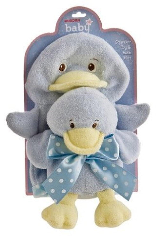 Lil Duck Boy Bath Toy Set 8 by Aurora [並行輸入品]