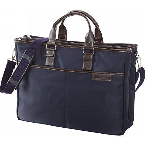 ラガシャ 3層ビジネスバッグ:ネイビー