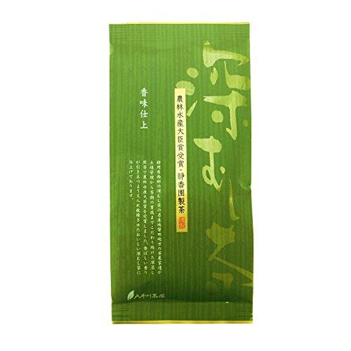 大井川茶園 農林水産大臣賞 静香園製茶 深蒸し茶香味仕上 100g