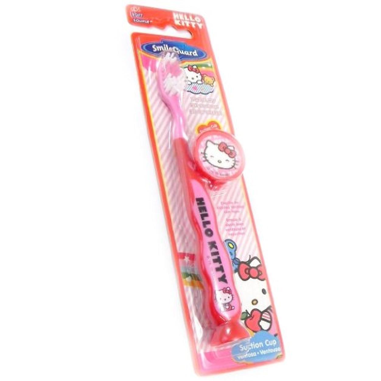 寄生虫熱心プライバシー[ハローキティ (Hello Kitty)] (Hello Kitty コレクション) [I2026] 子ども用ハブラシ レッド