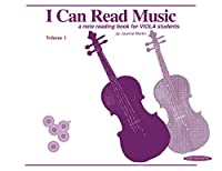 I Can Read Music: For Viola