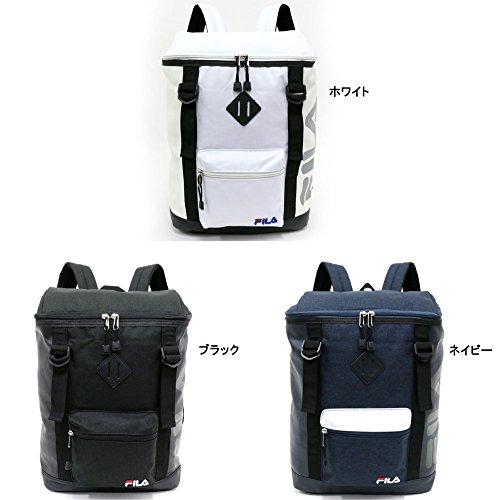 a7eac3c95bcc フィラ] リュック ブランド ロゴ PC収納 ホワイト Free|日本商品の海外 ...