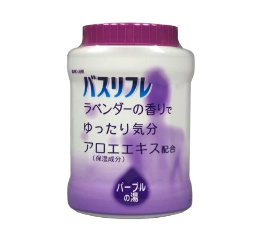 トロリーナサニエル区戸惑うバスリフレ 薬用入浴剤 ラベンダーの香り 680G Japan