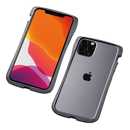 Deff(ディーフ) CLEAVE Aluminum Bumper for iPhone 11 Pro アルミバンパー (グラファイト)