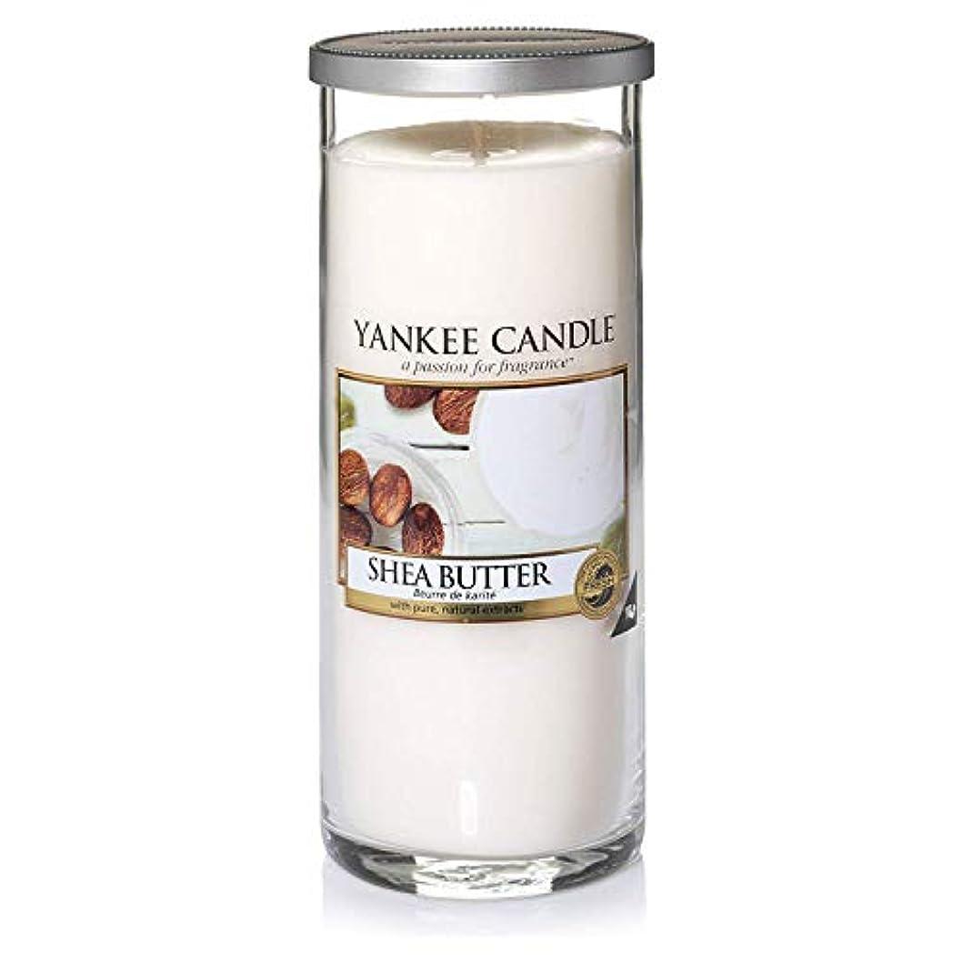 パラメータスチュワーデスデンマーク語Yankee Candle 「シアバターピラーキャンドル クリーム L