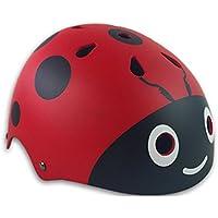 KUNFUN 子供用 軽量 ヘルメット 調節可能 キッズ サイクリング 自転車 スケート びっくり 軽い ヘルメット 幼児 キッズ 子供 小学生 3-12歳の子供