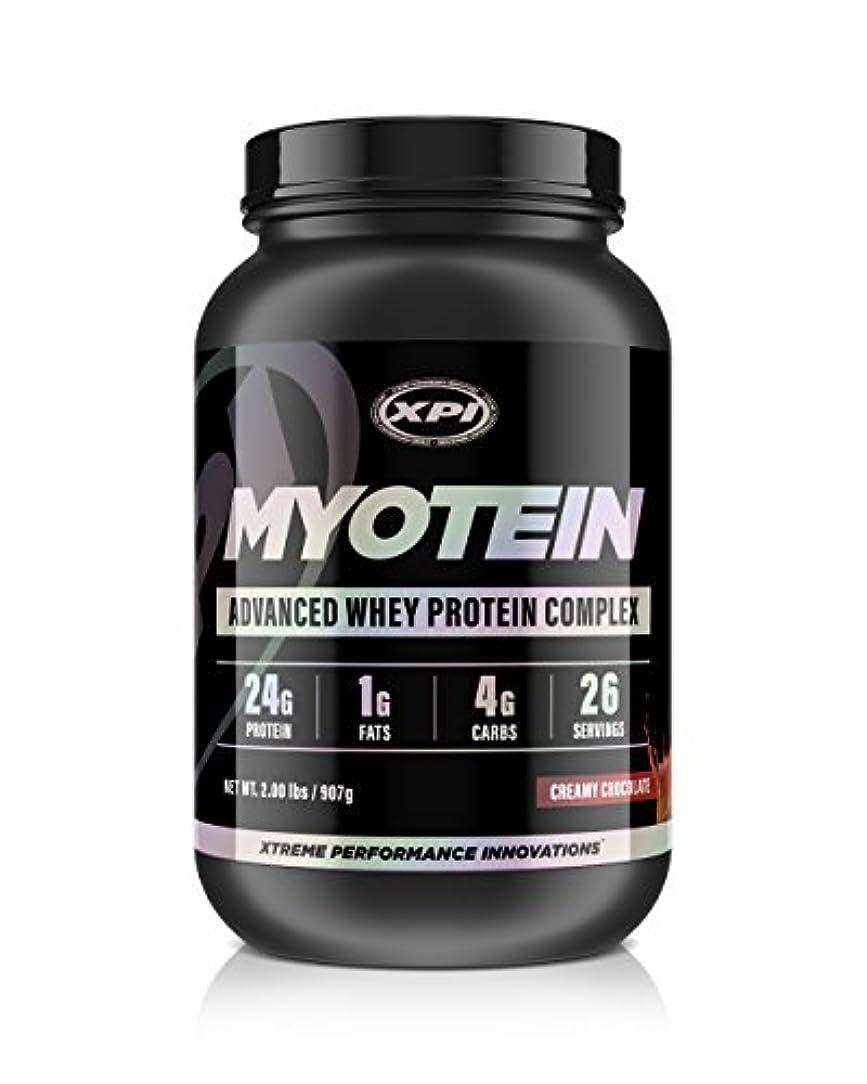 タンザニア心理的除外するXPI Supplements ミオテインプロテインパウダー(クリーミーチョコレート、2ポンド) - 最高のホエイプロテインパウダーコンプレックス - グレートテイスティングプロテイン - 加水分解物、分離物、濃縮物、ミセルカゼイン