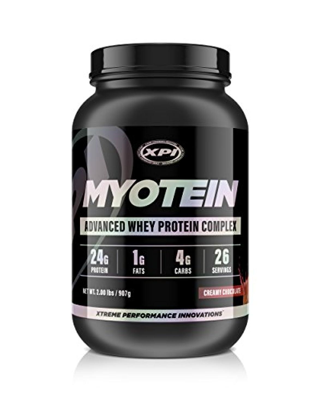 ターゲットパリティ特許XPI Supplements ミオテインプロテインパウダー(クリーミーチョコレート、2ポンド) - 最高のホエイプロテインパウダーコンプレックス - グレートテイスティングプロテイン - 加水分解物、分離物、濃縮物、ミセルカゼイン