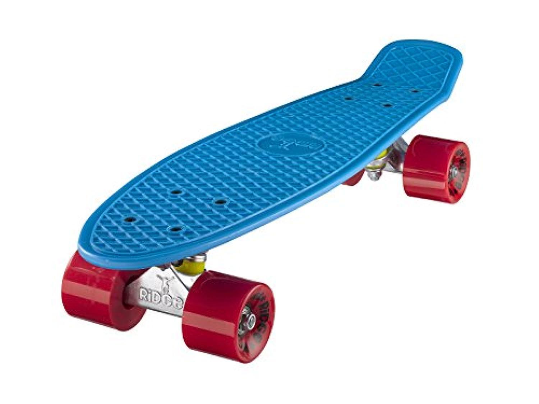 (リッジ?スケートボード) RiDGE Skateboards 製 Complete 55cmオリジナル22インチ ミニクルーザーボード