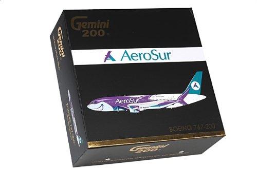 """1:200 ジェミニジェット 200 G2RSU306 ボーイング 767-200 ダイキャスト モデル Aerosur CP-2659 """"Sharko""""【並行輸入品】"""