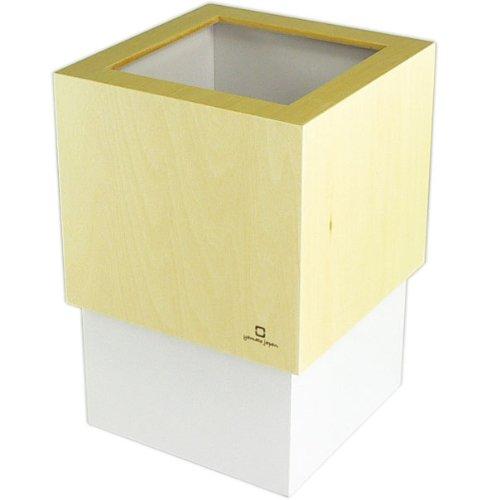 ヤマト工芸 W CUBE ダストボックス DUSTBOX パープルホワイト YK06-012Pwh
