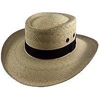 Palmoro The Original Golf Gambler Moreno Palm Straw Sun Hat