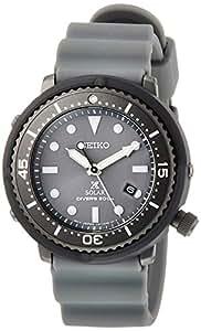 [セイコーウォッチ] 腕時計 プロスペックス ソーラー LOWERCASEプロデュースモデル 空気潜水用200m防水 グレー文字盤 外胴ダイバーズ 逆回転防止ベゼル STBR023 グレー