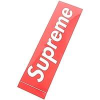 (シュプリーム)Supreme シール ステッカー STICKER BOX LOGO ボックス ロゴ 光沢タイプ レッドxホワイト (並行輸入品)