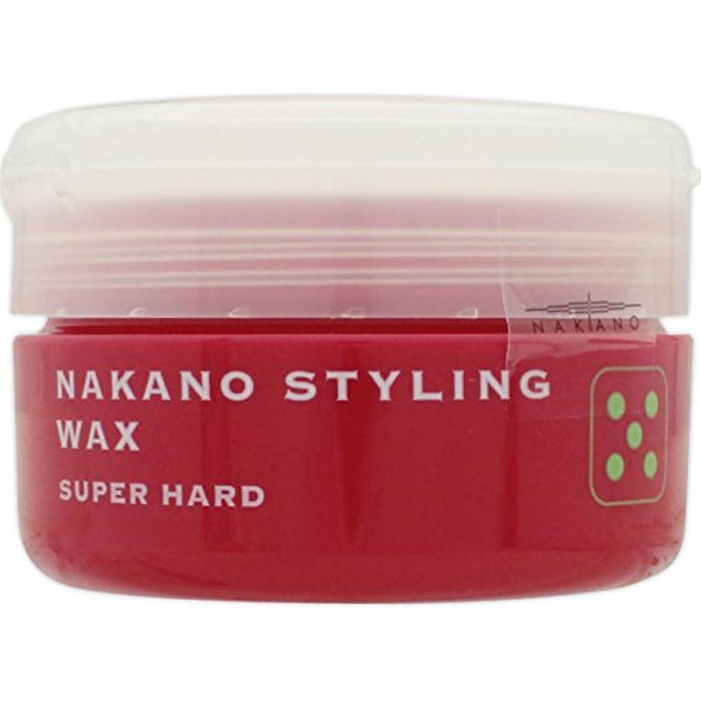 戦略クラッシュ習慣ナカノ スタイリング ワックス 5 スーパーハード 90g
