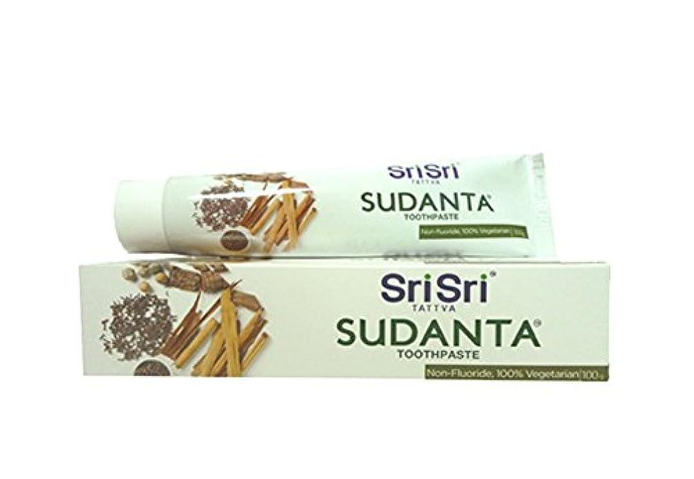 ロール徹底導出シュリ シュリ アーユルヴェーダ スダンタ 磨き粉 100g Sri Sri Ayurveda sudanta toothPaste