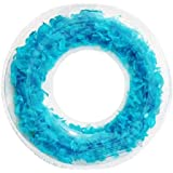浮き輪 子供用 大人用 65cm/85cm 可愛い PVC素材 インフレータブル透明 フロート スイミングリング プール ビーチ 水遊び 海水浴 運動