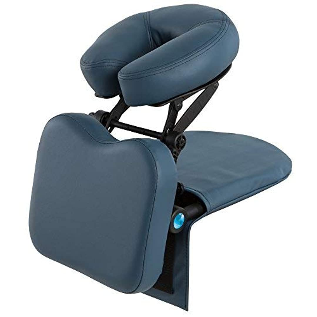 変化するひどいアジテーションEARTHLITE Travelmate Massage Support System Package - Face Down Desk & Tabletop Massage Kit Vitrectomy recovery...