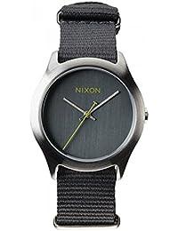 [ニクソン] NIXON メンズ レディース THE MOD モッド ナイロンベルト チャコールグレー A348-147 腕時計 [並行輸入品]