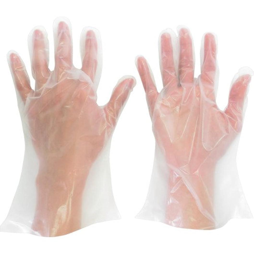 信念によるとプレフィックスミドリ安全 ポリエチレン使い捨て手袋 厚手 外エンボス 200枚入 M VERTE565NM