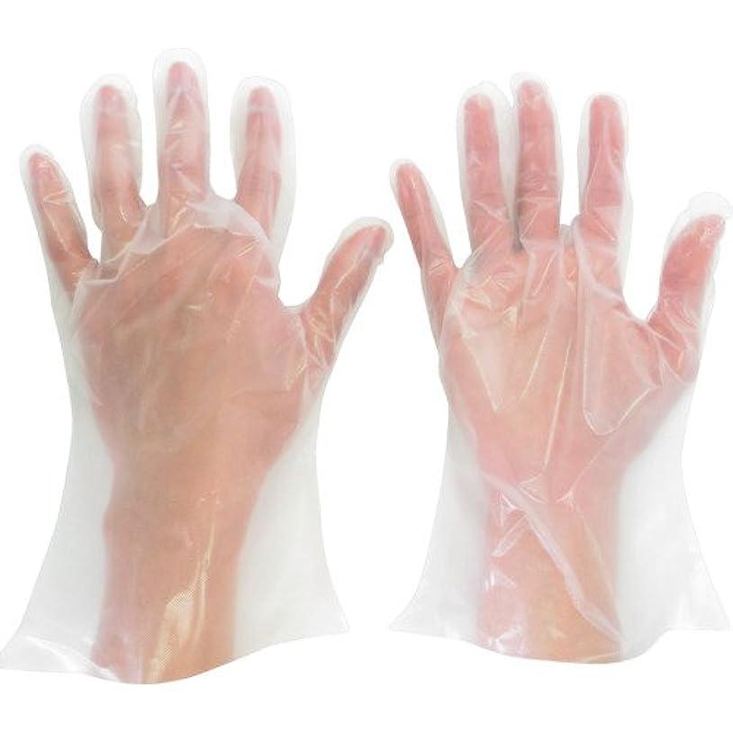 リマーク日食ブレイズミドリ安全 ポリエチレン使い捨て手袋 厚手 外エンボス 200枚入 M VERTE565NM