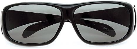 コールマン サングラス メガネの上から偏光サングラス オーバーグラス CO3012-1