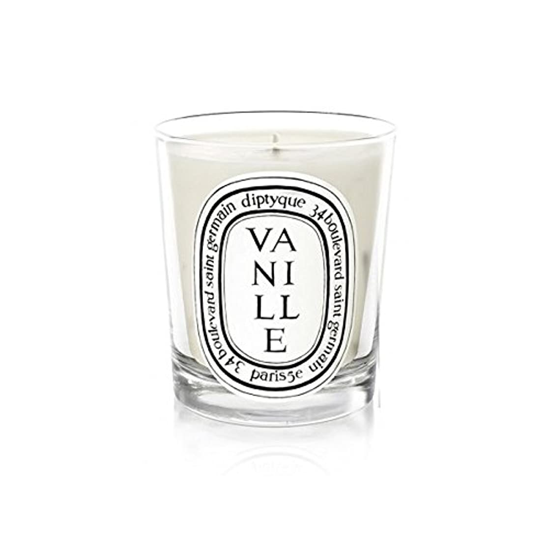 コック元の床Diptyque Vanille Mini Candle 70g (Pack of 6) - Diptyqueのヴァニラミニキャンドル70グラム (x6) [並行輸入品]