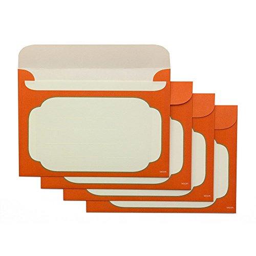 デザインフィル ミドリ 封筒<洋2> 漆 芍薬柄 20494006