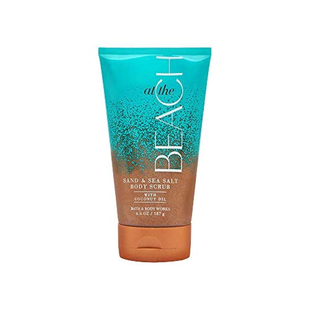脚十代の若者たち予感【Bath&Body Works/バス&ボディワークス】サンド&シーソルト スクラブ アットザビーチ Sand & Sea Salt Scrub At The Beach 8 oz / 226 g [並行輸入品]