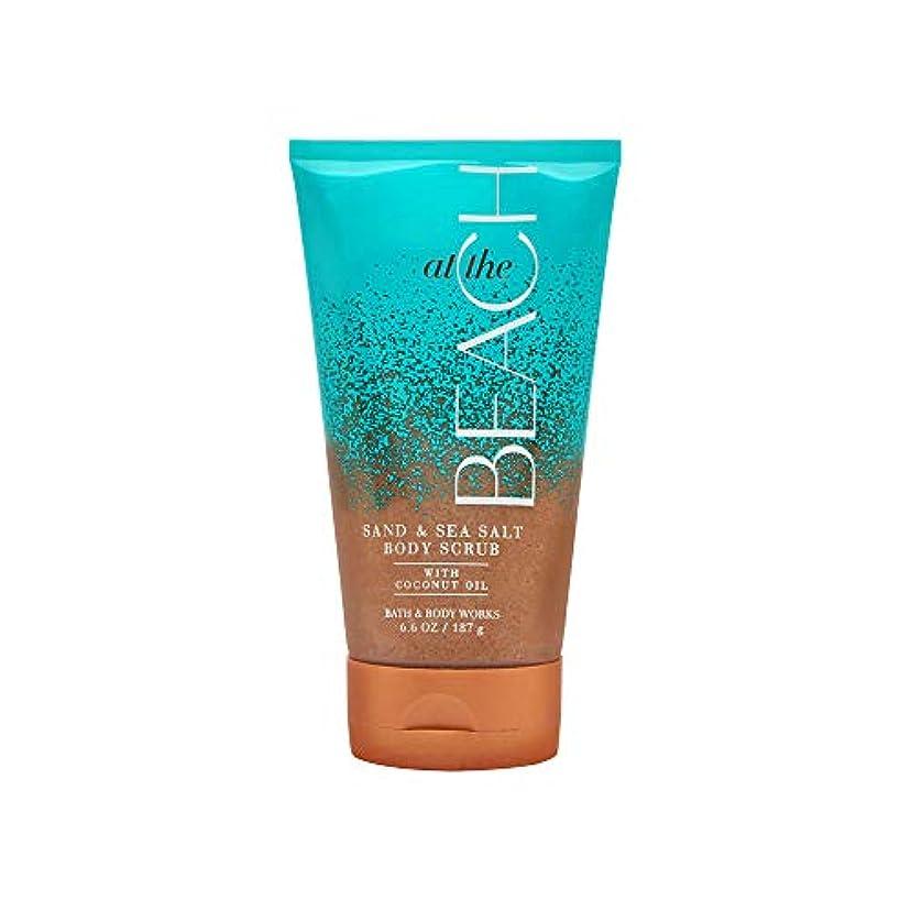 海外で貞内部【Bath&Body Works/バス&ボディワークス】サンド&シーソルト スクラブ アットザビーチ Sand & Sea Salt Scrub At The Beach 8 oz / 226 g [並行輸入品]