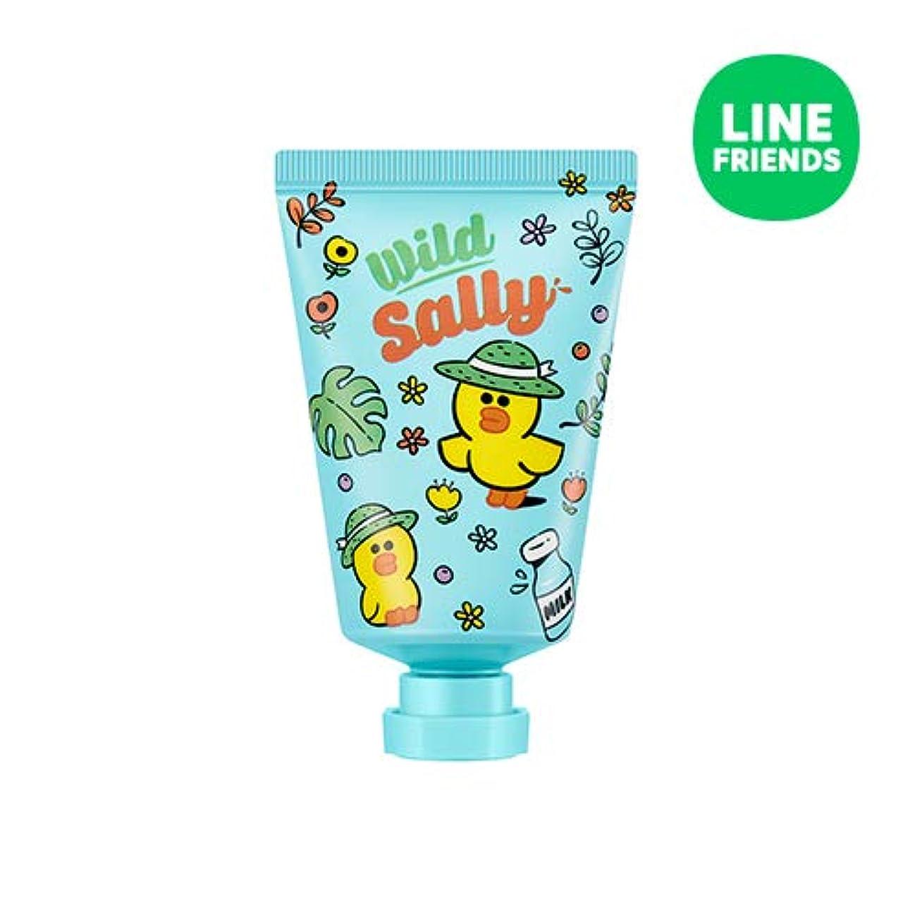 脆い専門知識むき出しミシャ(ラインフレンズ)ラブシークレットハンドクリーム 30ml MISSHA [Line Friends Edition] Love Secret Hand Cream - Sally # Cotton White [...