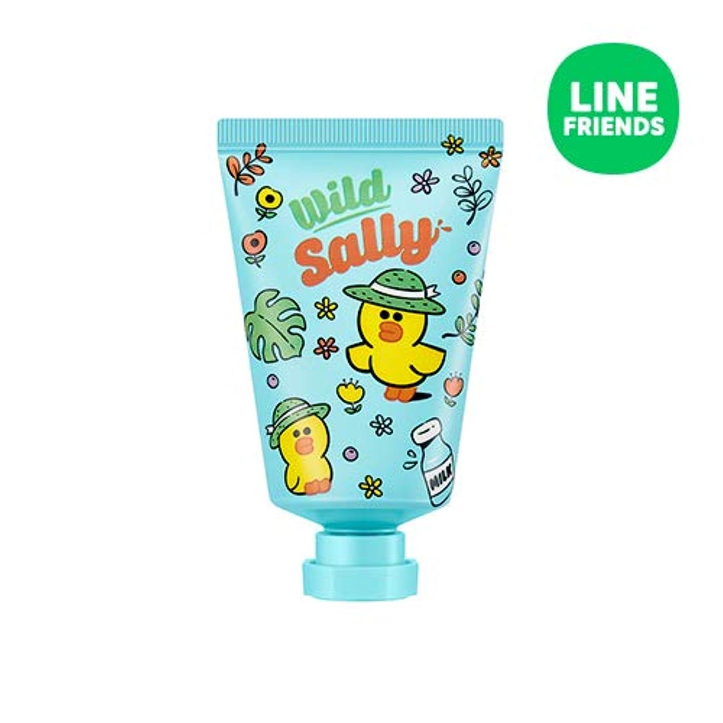 エキゾチック避難エンターテインメントミシャ(ラインフレンズ)ラブシークレットハンドクリーム 30ml MISSHA [Line Friends Edition] Love Secret Hand Cream - Sally # Cotton White [...