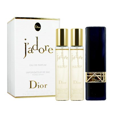 Christian Dior クリスチャン ディオール ジャドール オードゥ パルファン パース スプレー 20ml x 3 [並行輸入品]