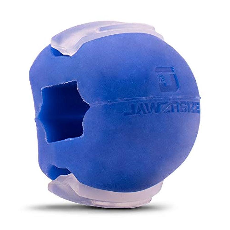 サンダルジョブ代理人Jawzrsize フェイストナー、ジョーエクササイザ、ネックトーニング装置 (20 Lb. 抵抗) レベル1 - 青