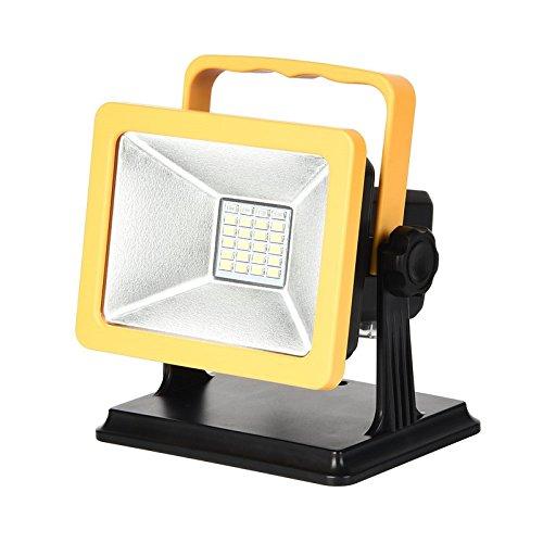 [해외]Glosh LED 투광기 작업 등 투광기 15W 충전식 6500K 초박형 무선 방수 방진 장시간 점등 경량/Glosh LED projector work lamp light projector 15 W rechargeable type 6500 K ultra-thin cordless waterproof dustproof long time light weight lig...
