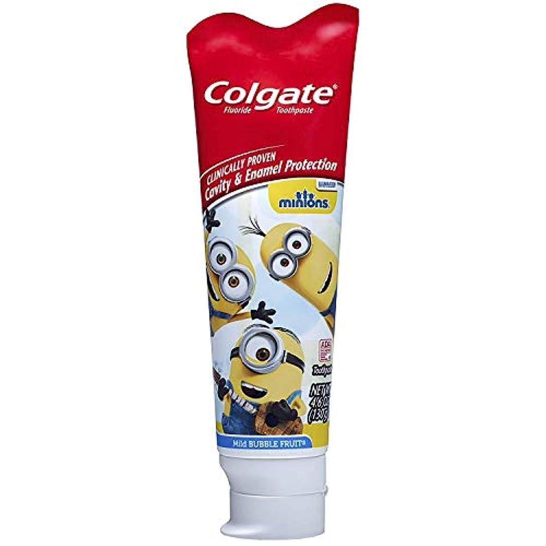 クレーター句読点長椅子Colgate キッズ手下の歯磨き粉、マイルドバブルフルーツ4.60オズ(7パック) 7のパック
