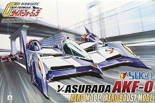 青島文化教材社 1/24 サイバーフォーミュラ No.12 νアスラーダ AKF-0 エアロモード/エアロブーストモード