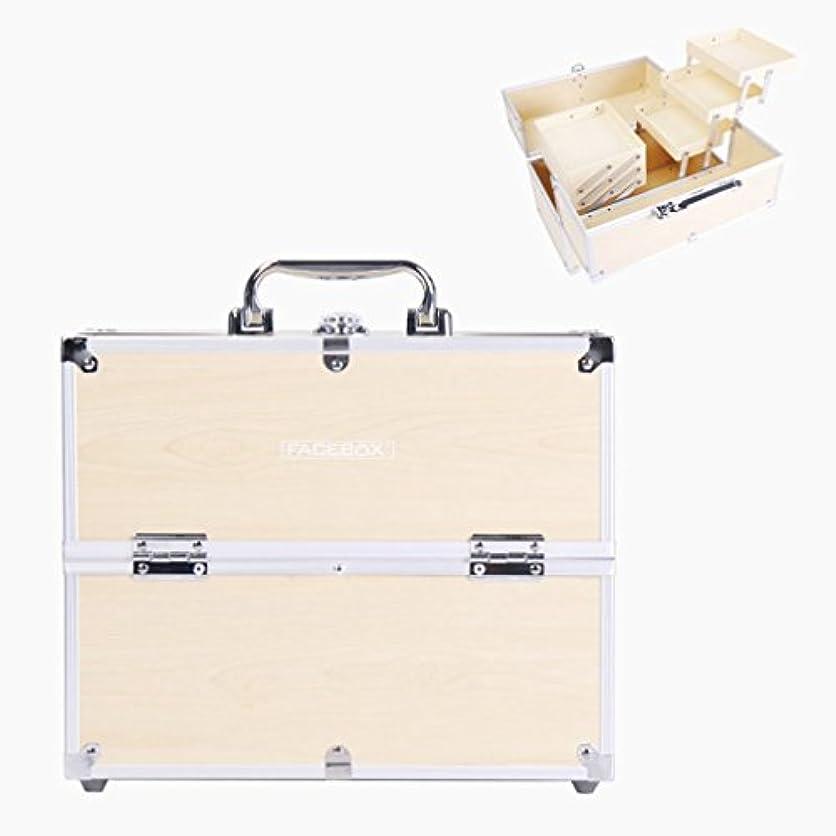 スケート若い故意の「XINXIKEJI」メイクボックス コスメボックス 大容量 2段/3段 化粧ボックス スプロも納得 収納力抜群 鍵付き かわいい 祝日プレゼント  取っ手付 コスメBOX