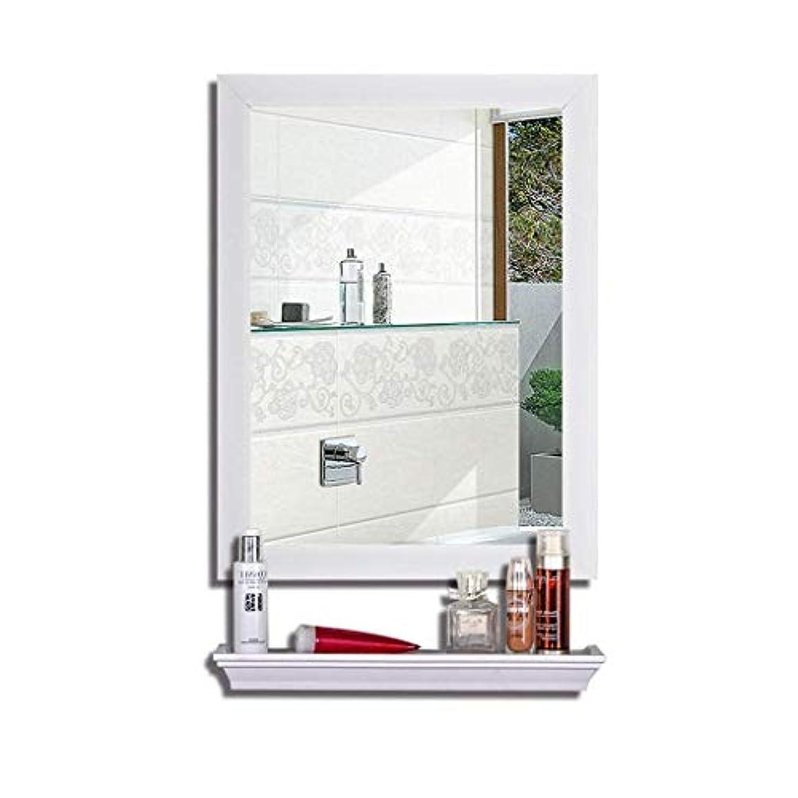 備品加入正しくSelm 壁掛けトイレ化粧鏡化粧台、北欧スタイル