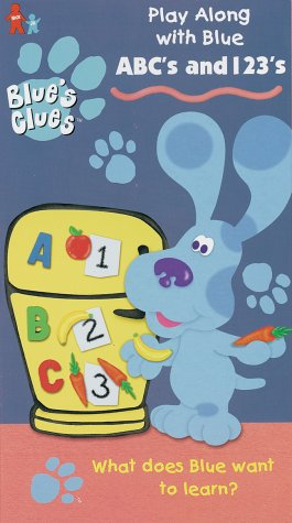 Blue's Clues: ABC's and 1,2,3's [VHS] [Import]