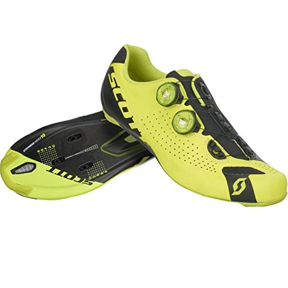 適応するセットアップシャンパンスコット?2017メンズロードRCバイク靴 – 251812 (ネオンイエロー/ブラック – 42 )