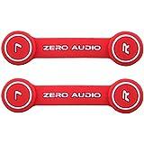 ZERO AUDIO ヘッドホンクリップ レッド ZA-CLP-RW 2個入