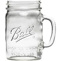 mj-16011 24oz(710ml) クリア (ボール) Ball メイソンジャー Ball Drinking Mason Jars with Handle【16011】 DRINKKING MUG 24oz 710ml マグ ガラス グラス mj-16011