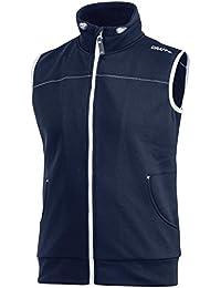 (クラフト) Craft メンズ レジャー アスレチック 袖なし フルジップ ベスト ボディーウォーマー