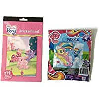 Big My Little Ponyアート&リングセットwith Little Pony、カラーリングPop Up文字、クレヨン、パズル、ステッカー、リングセット、メモパッド, & Coloring Book, Too 。